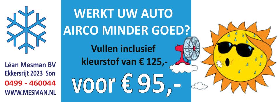 airco actie € 95